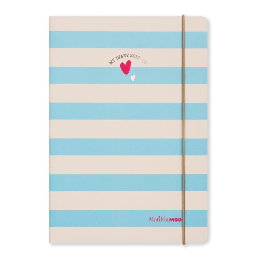 Matilda MOO 2019-20 Diary Blue