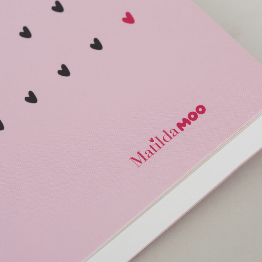 Pink A6 Diary