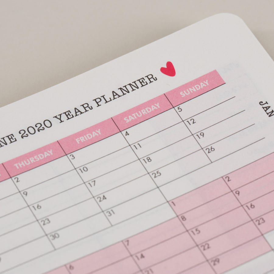 Diary Year Planners