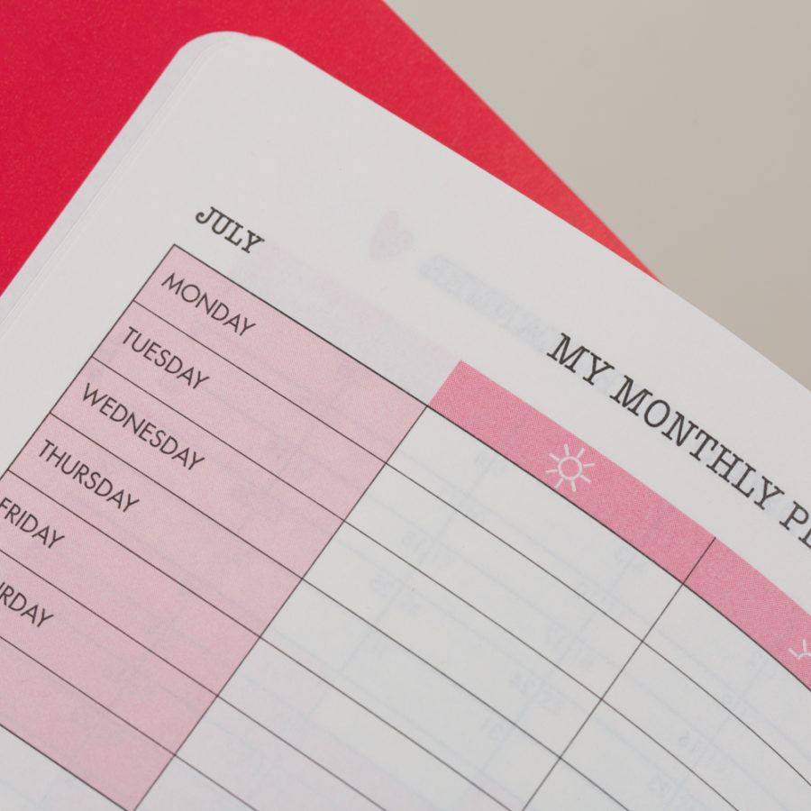 Diary Monthly Planners