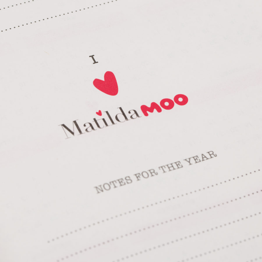 I Love Matilda MOO Diaries