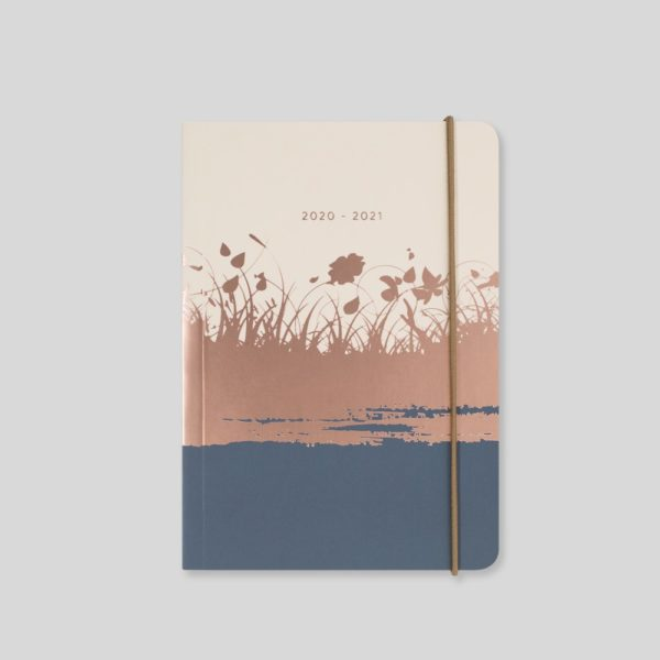 Matilda Myres 2020-21 Flex Cover A6 Daily Mid Year Diary – Ivory – MY110-03D