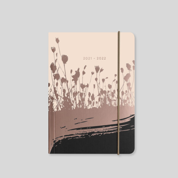 Matilda Myres 2021-22 Flex Cover A6 Daily Mid Year Diary – Ivory – MY110-03D
