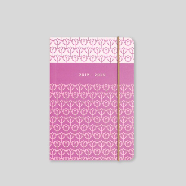 Matilda Myres 2019-20 Flex Cover A6 Daily Mid Year Diary – Plum – MY110-01D