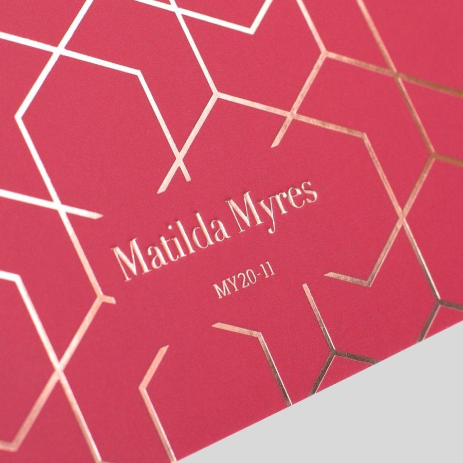 Matilda Myres Note book