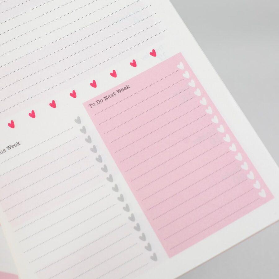 Matilda Moo 2022 A5 Weekly Diary Layout