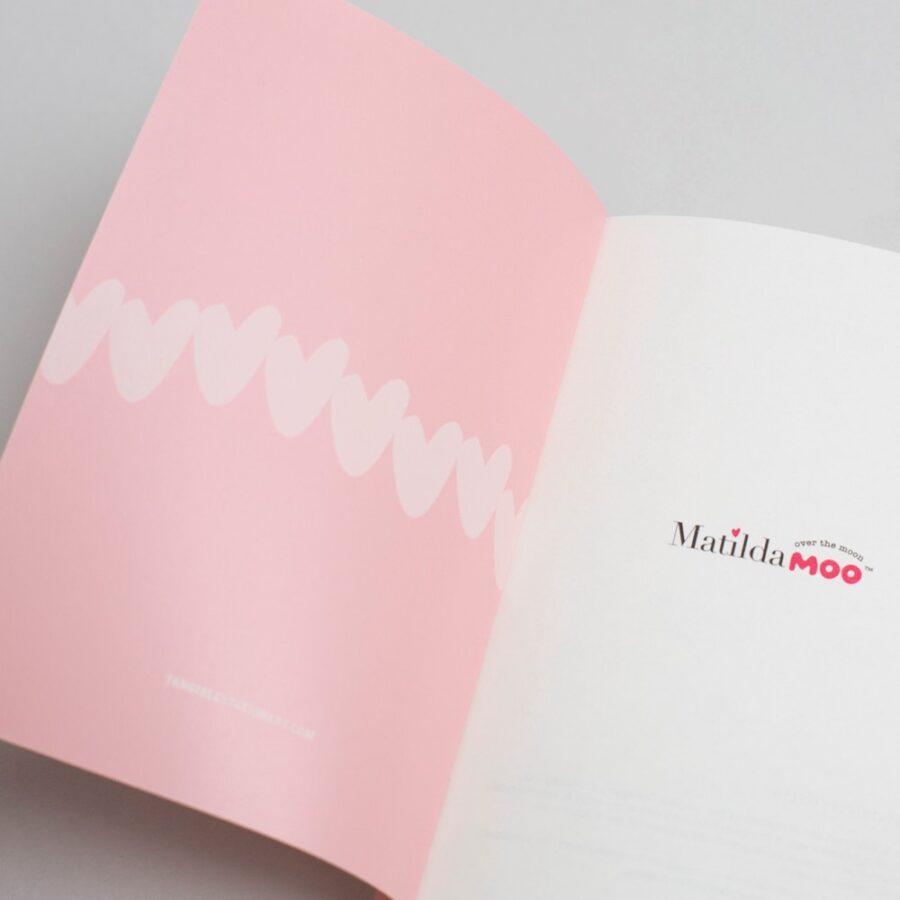 2022 A6 Diary Matilda Moo Open