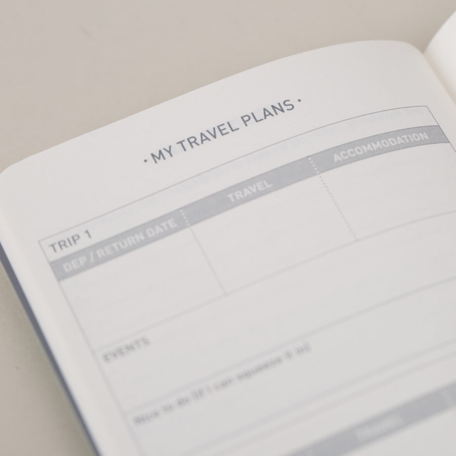 Travel Planner Diary