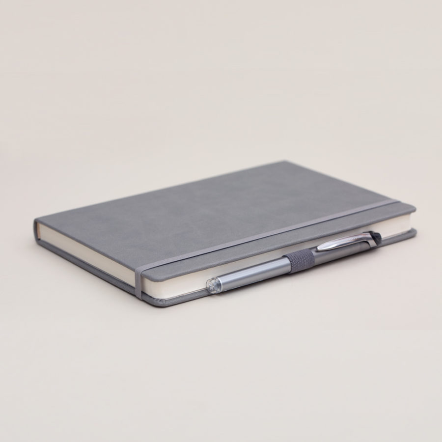 A5 lined notebook