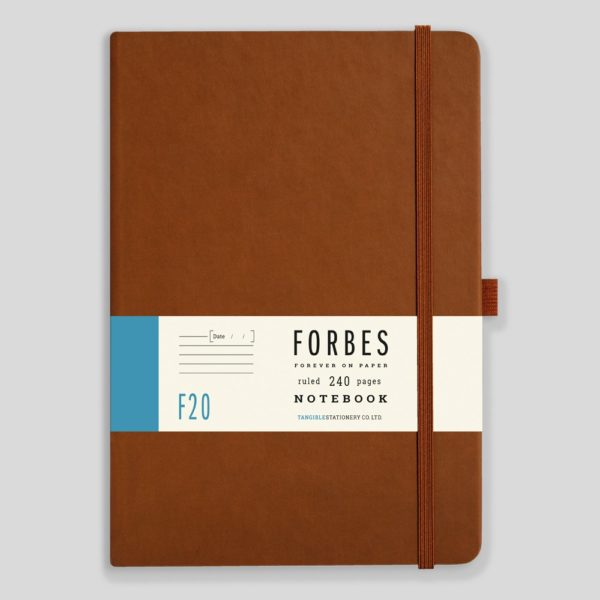 FORBES Classic Notebook Lined F20-05 – Tan
