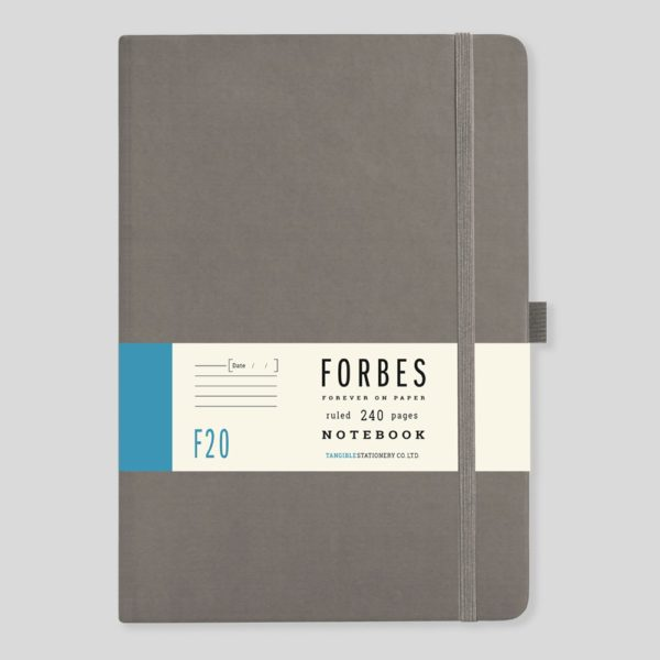 FORBES Classic Notebook Lined F20-04 – Grey