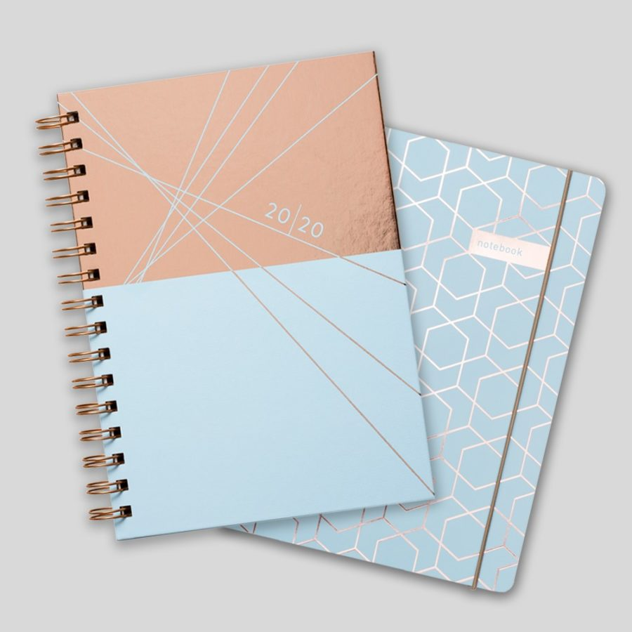2020 Diary Gift Set Blue