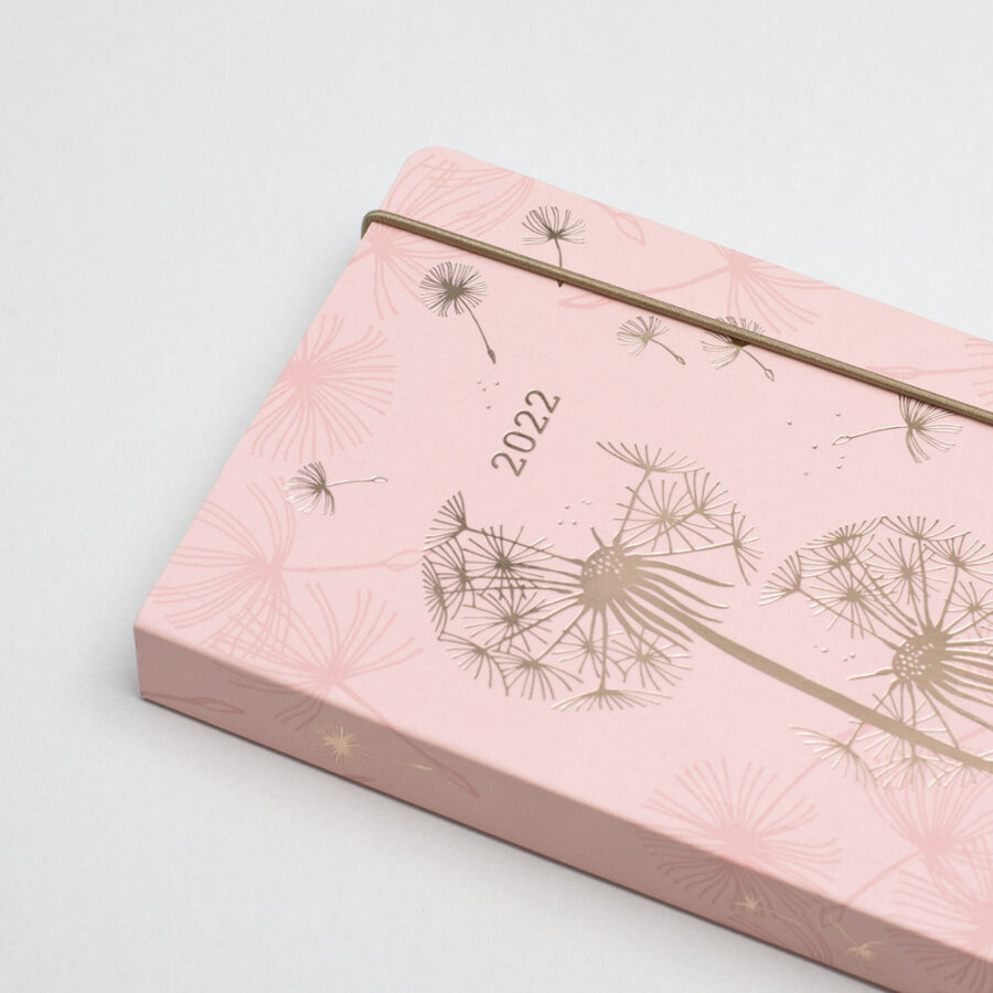 2022 Diary A6 Matilda Myers Rose Gold Pink
