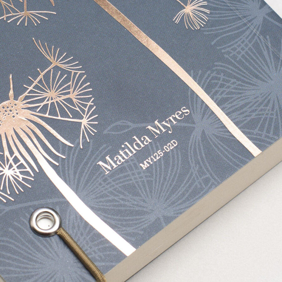2022 Diary A6 Matilda Myers Cover Grey