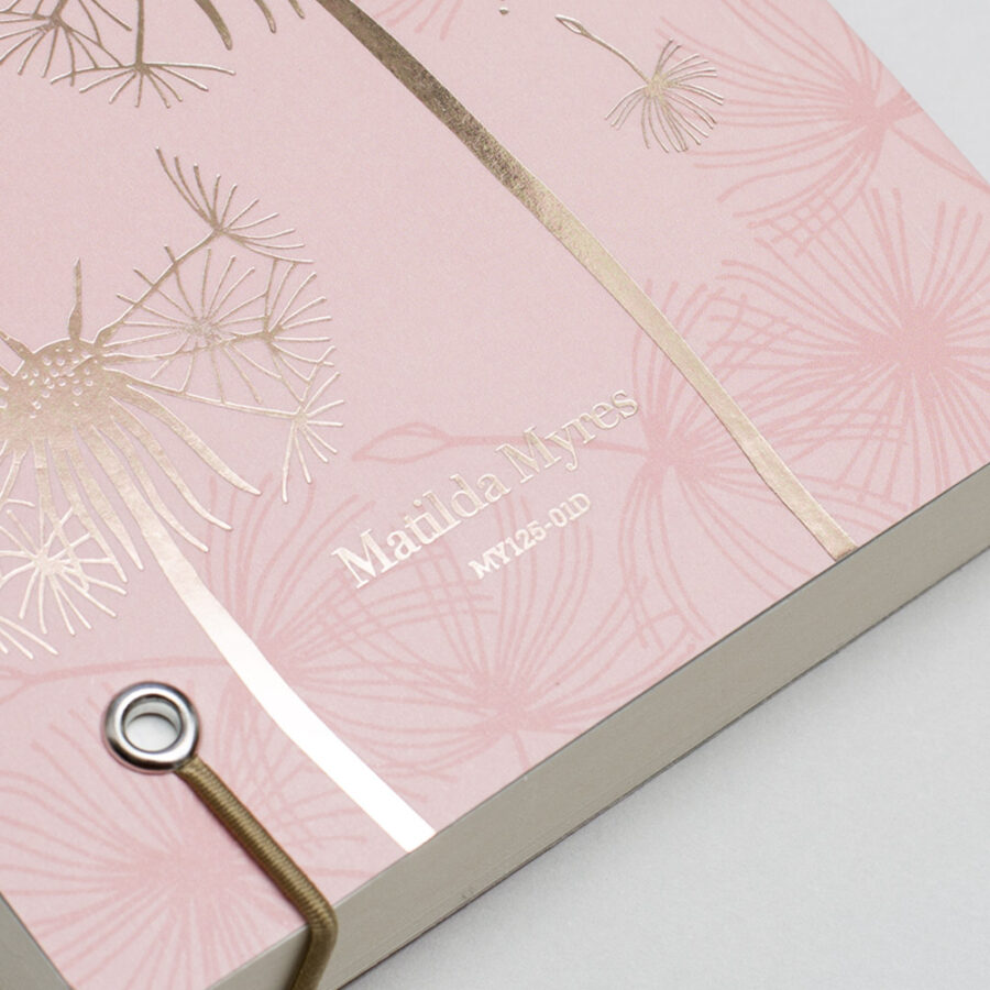 2022 Diary A6 Matilda Myers Cover Pink