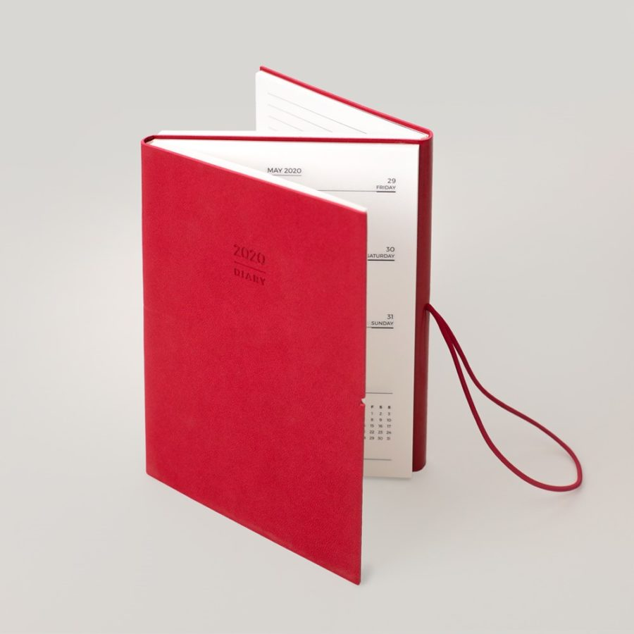 A5 2020 red diary