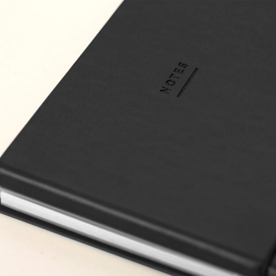 2021 Diary and Notebook Black