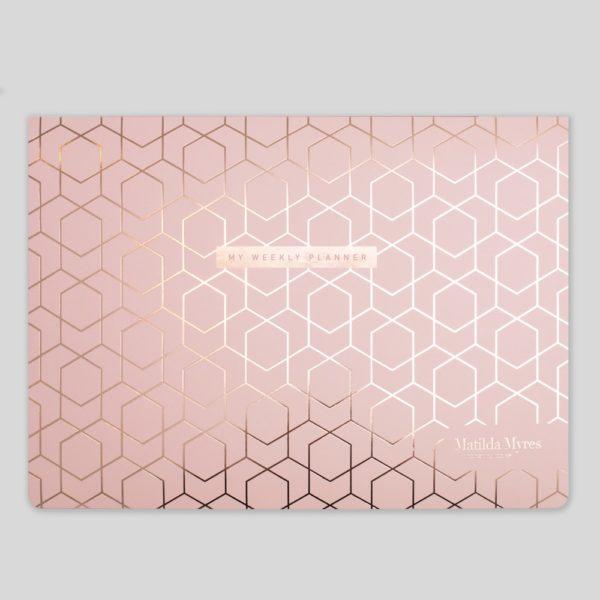 Matilda Myres A4 Weekly List Pad – MY70-01-Pink