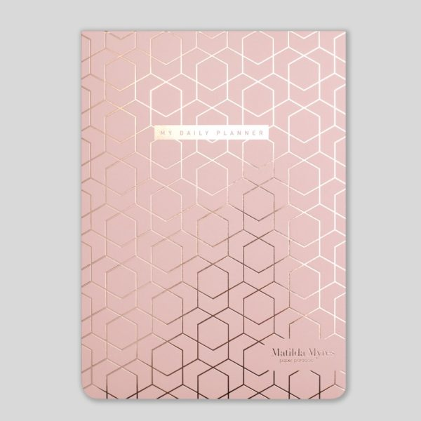 Matilda Myres A5 Daily List Pad – MY60-01-Pink