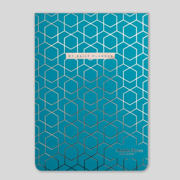 Matilda Myres A5 Daily List Pad – MY60-03-Teal