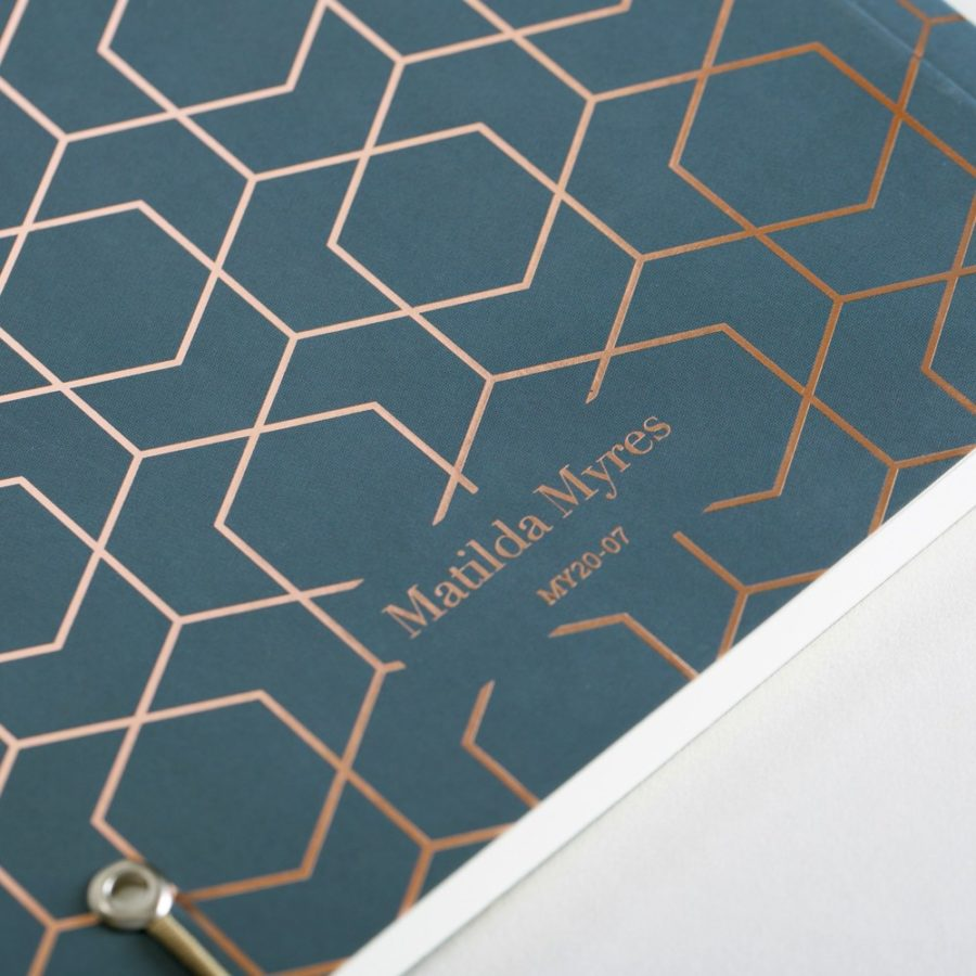 Myres A5 Notebook Grey
