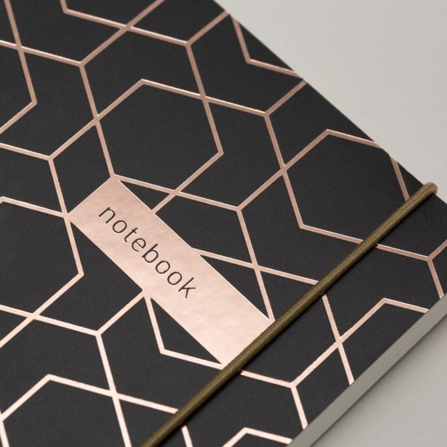 Myres A5 Notebook Black