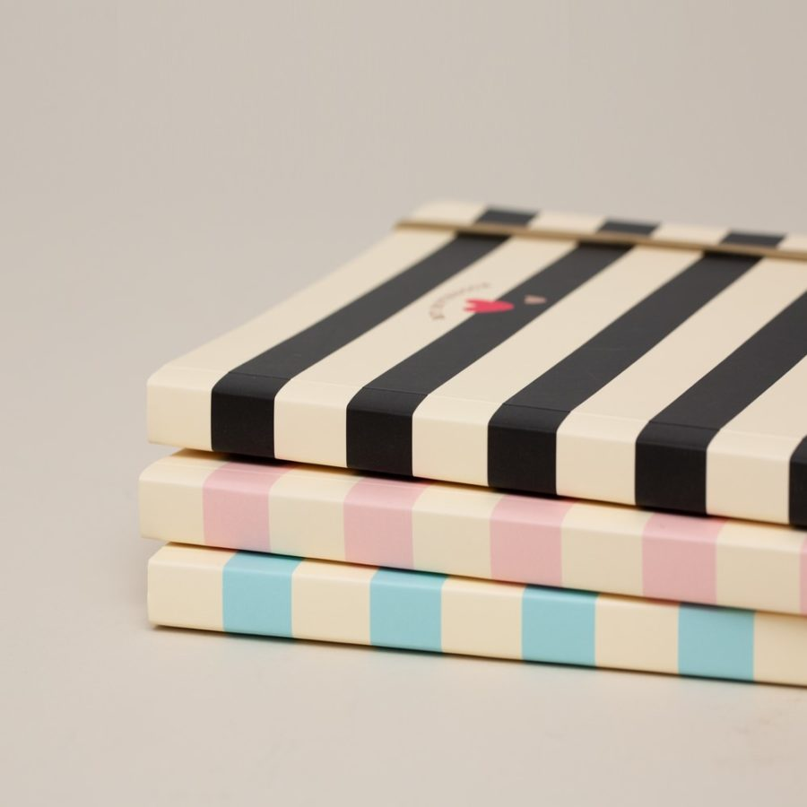 Matilda Moo A5 Notebook Stripes