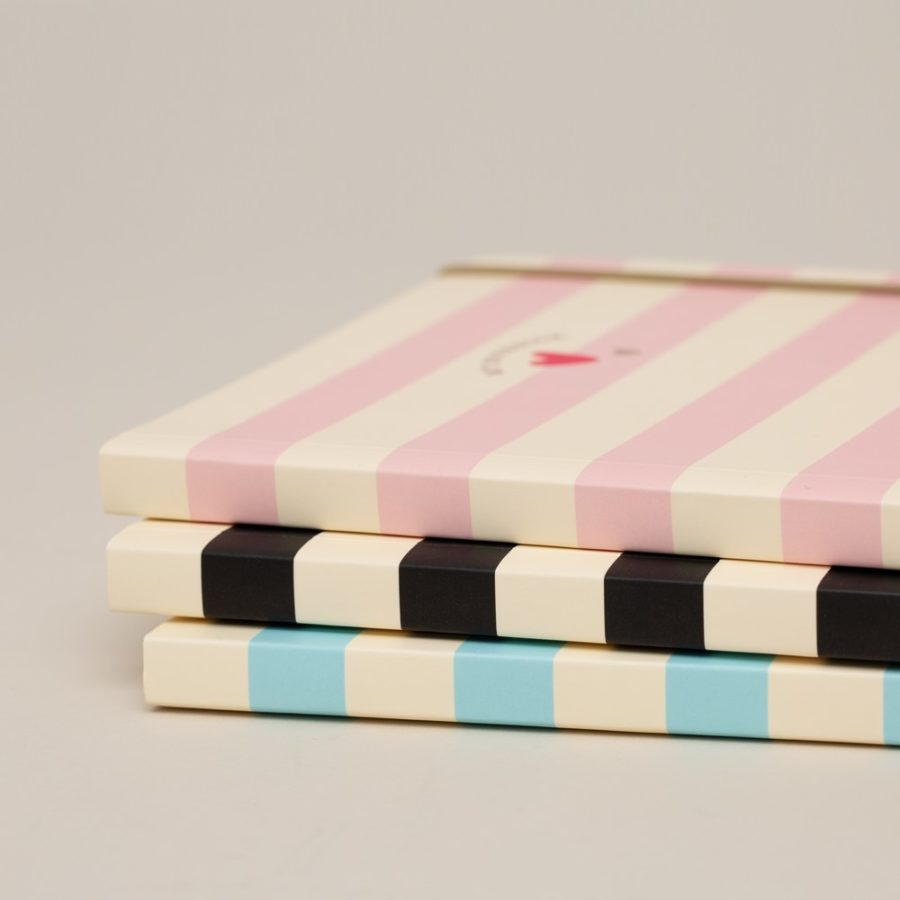 Matilda Moo A5 Notebook Striped