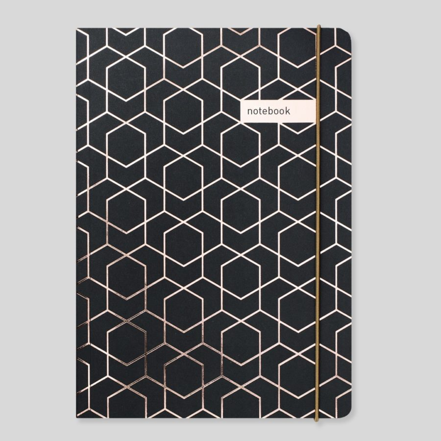 Matilda Myres A5 Notebook Black