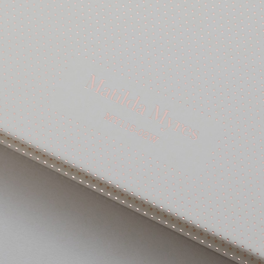 Matilda Myres 2021 Diaries Rose Gold