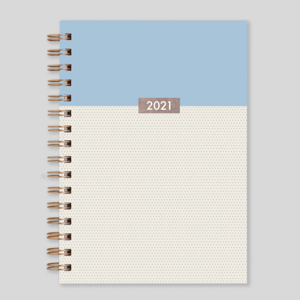 Matilda Myres 2021 Rose Gold Wiro Weekly Diary – MY115-02W