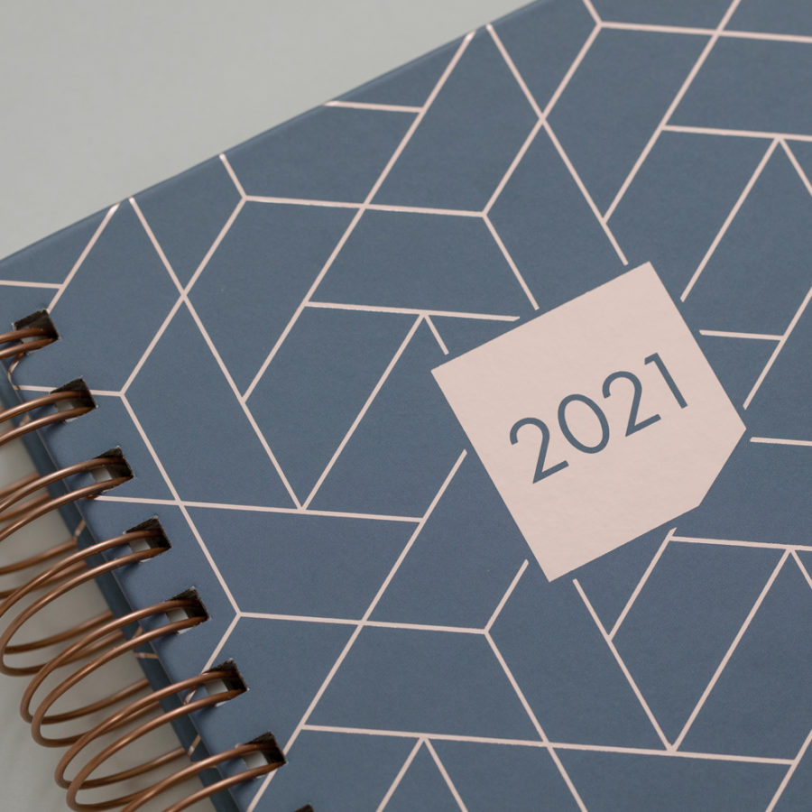 2021 Rose Gold Diaries Grey