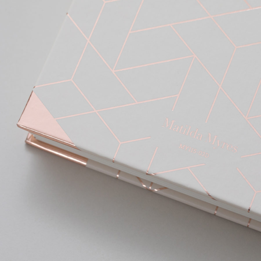 2021 Rose Gold Diary Ivory