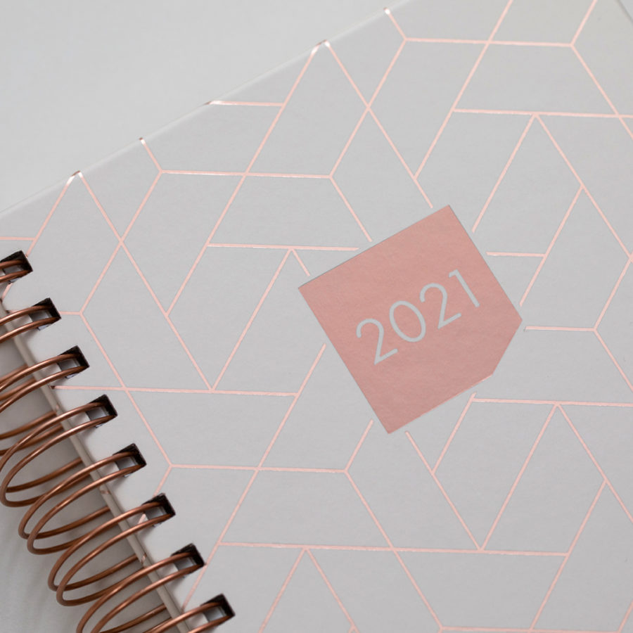 2021 Rose Gold Diaries Ivory