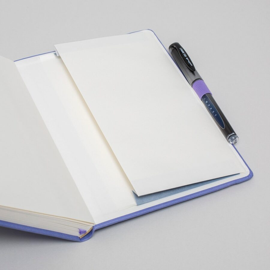 Personalisalised Notebook Lilac A5