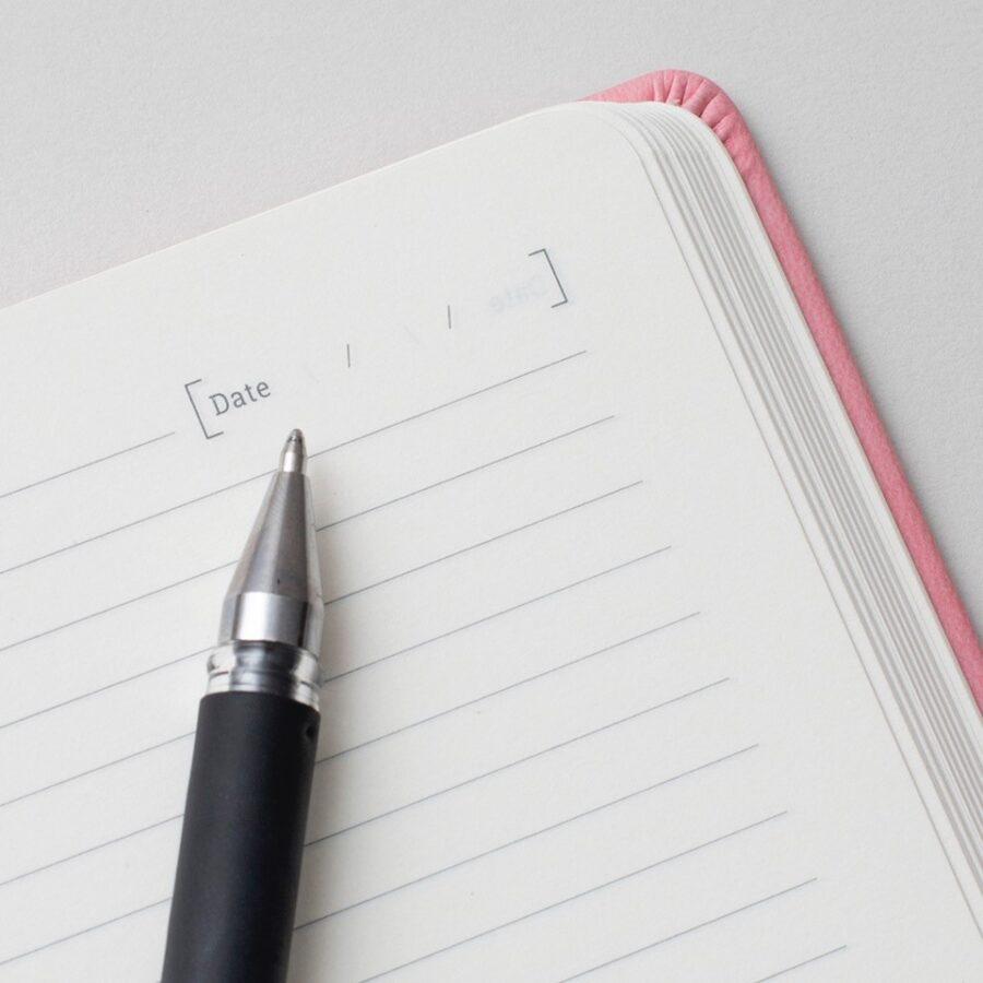 Pink Personalised Notebook