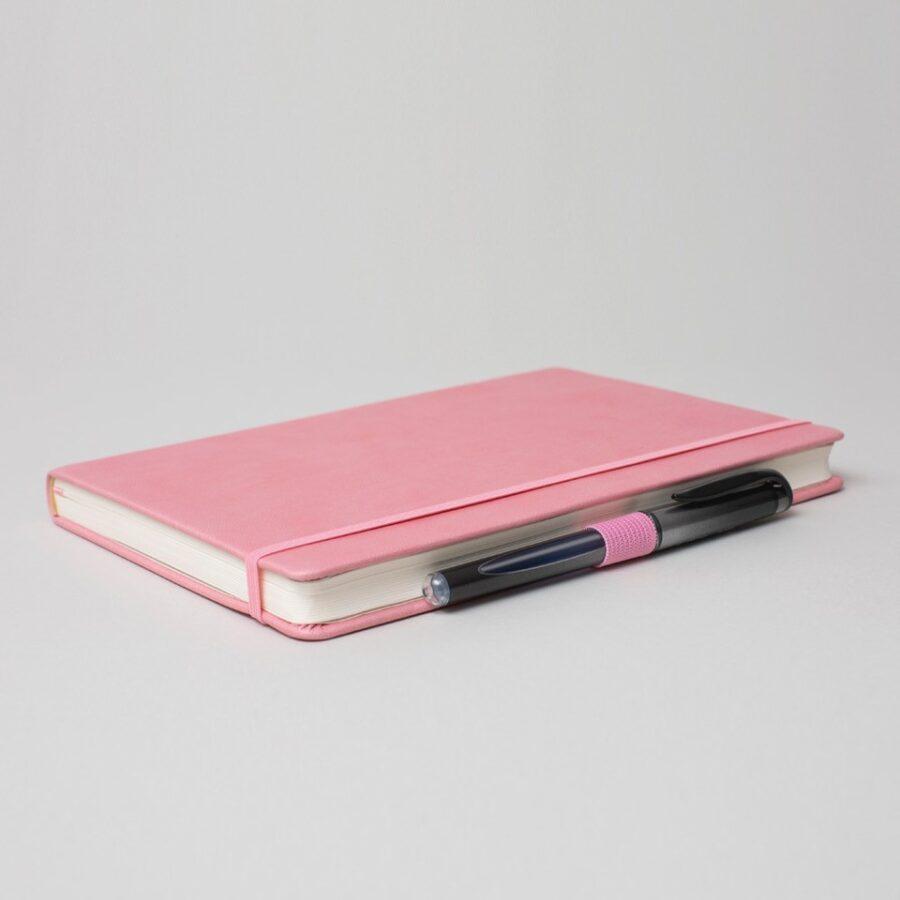 Personalised Pink Notebook