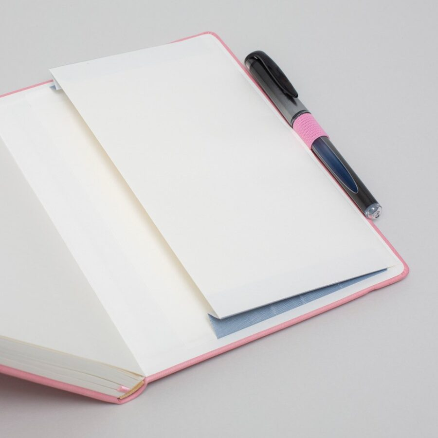 Personalised Pink Notebook A5