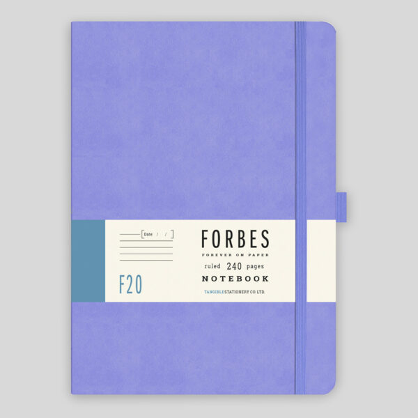 FORBES Classic Notebook Lined F20-08 – Lilac