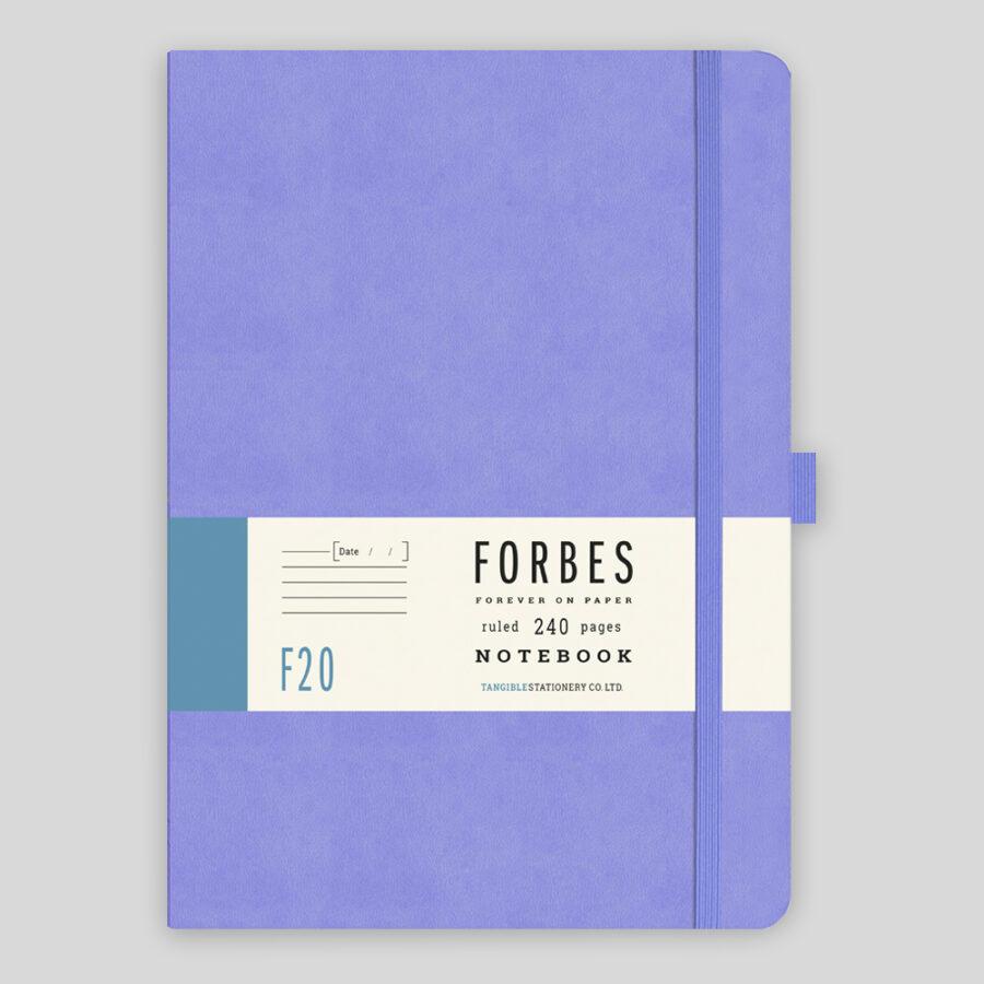 Peronalised Notebook in Lilac