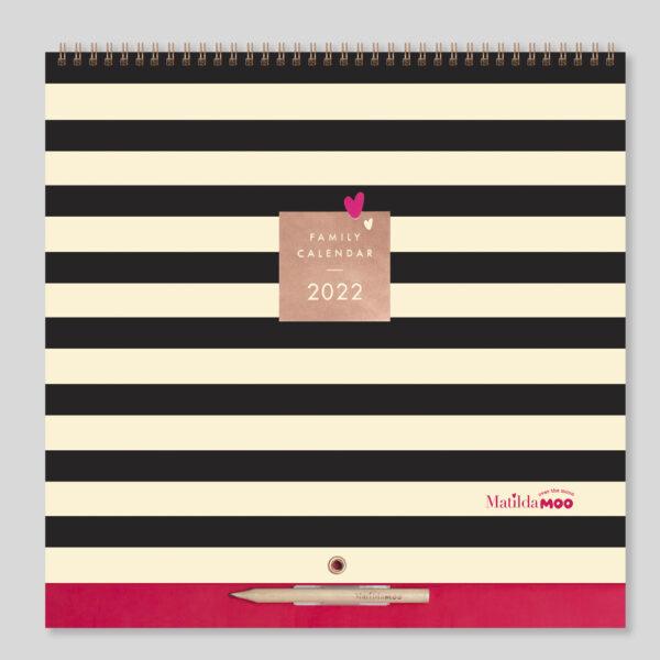Matilda MOO 2022 Family Calendar - MOO80-01
