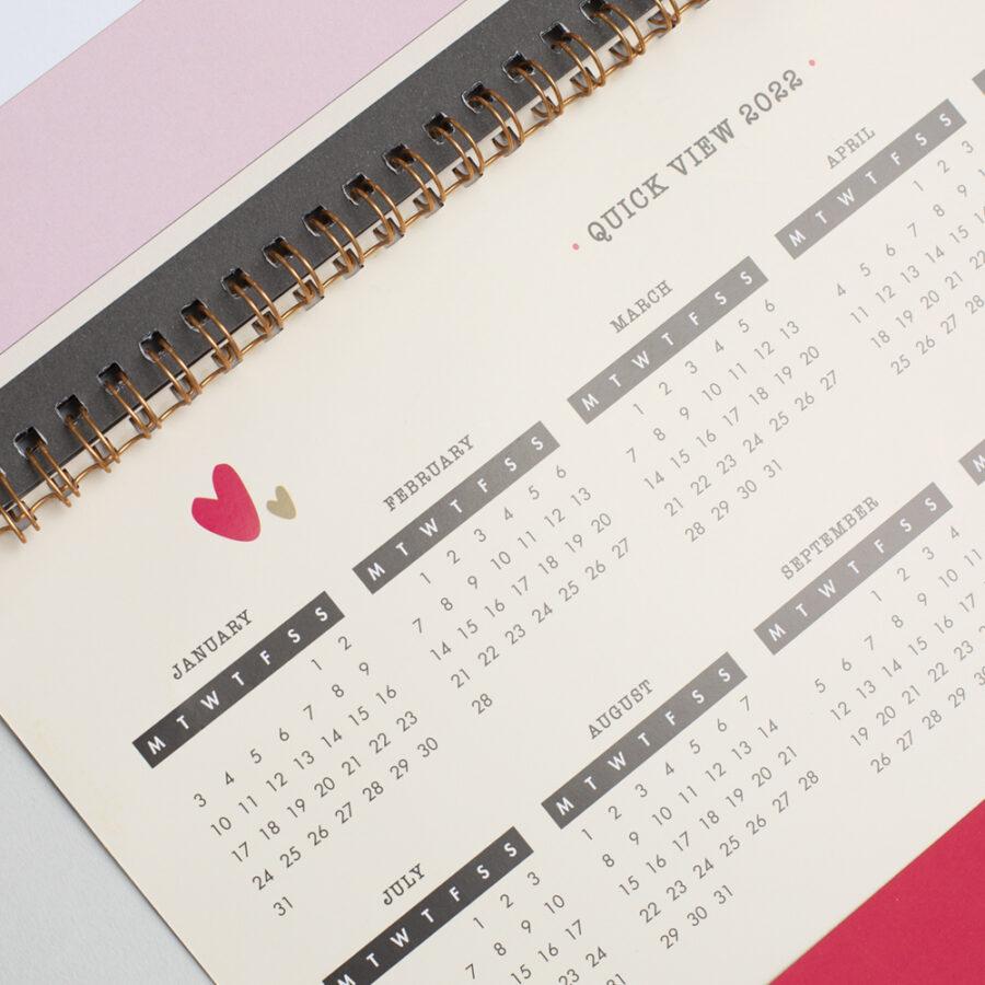 2022 Family Calendar Reference Calendar