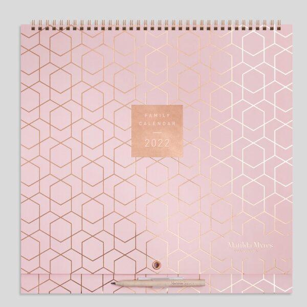 Matilda Myres 2022 Family Calendar – MY80-01-Pink