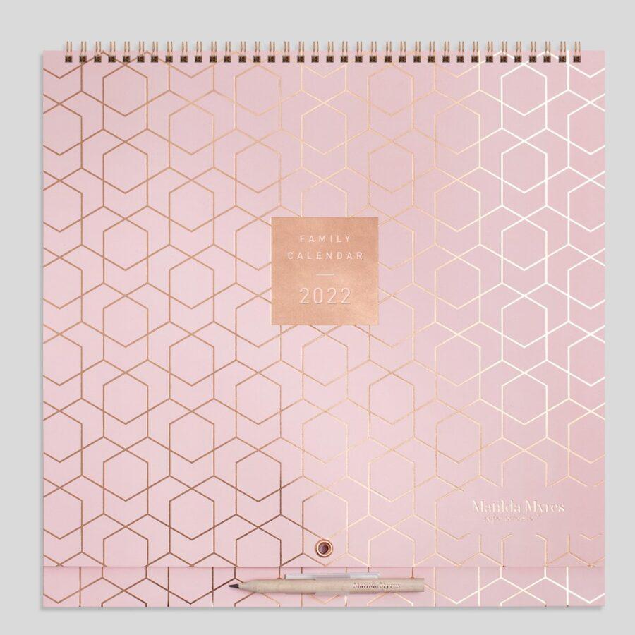 2022 Family Calendar from Matilda Myres