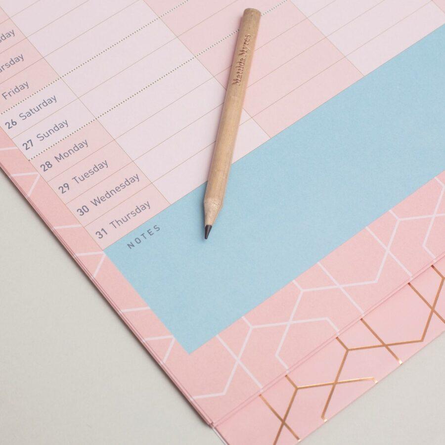 2022 Family Calendar from Matilda Myres Wall Notes